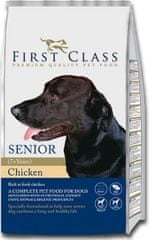 First Class Dog Senior Chicken 12kg