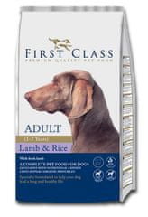 First Class Dog Adult Lamb & Rice kutyatáp - 12kg