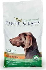 First Class Dog HA Adult Duck & Rice Kutyaeledel, 12 kg