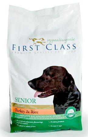 First Class sucha karma dla psa Dog HA Senior Turkey & Rice - 12kg