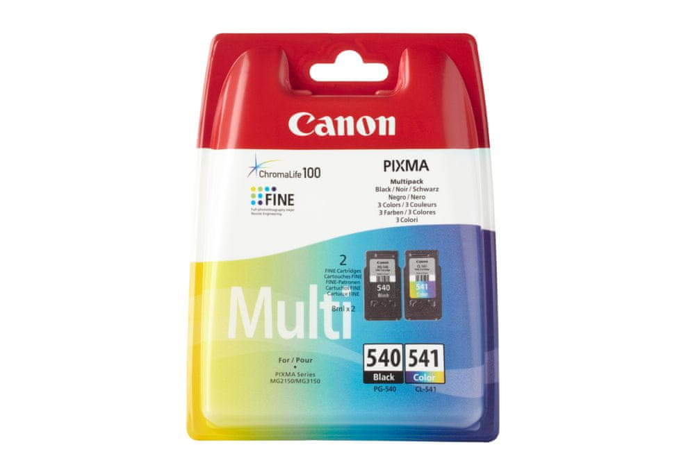 Canon PG-540 / CL-541 Multi pack (5225B006), barevná