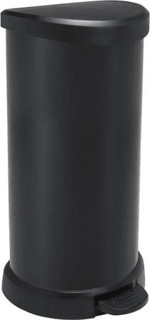 CURVER fémhatású szemetes 40L, Piros II.osztály