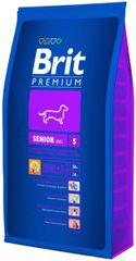 Brit sucha karma dla psa Premium Senior S - 8kg