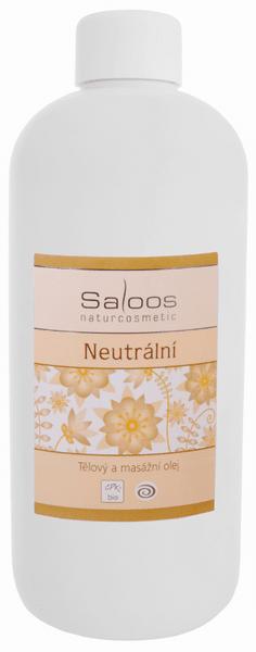 Saloos Masážní olej Neutrální 500 ml
