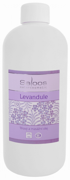 Saloos Masážní olej Levandule 500 ml