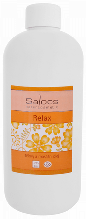Saloos Tělový a masážní olej Relax 500 ml