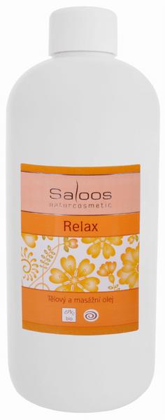 Saloos Masážní olej Relax 250 ml