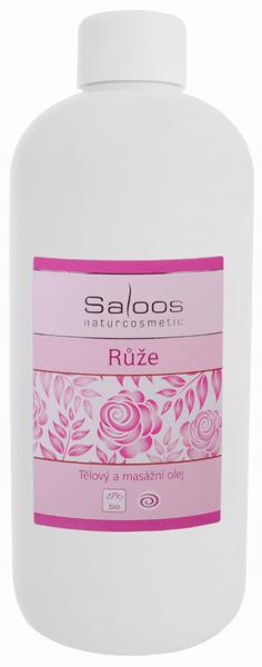 Saloos Masážní olej Růže 250 ml