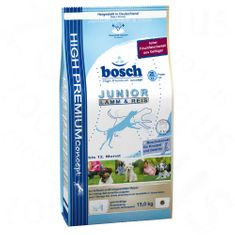Bosch Dog Junior Lamb & Rice 15 kg