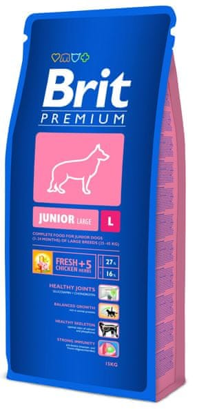 Brit Premium Dog Junior L 15 kg