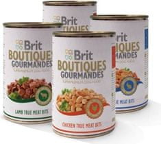 Brit Boutques Gourmandes Mix kutyakonzerv, 12x400g