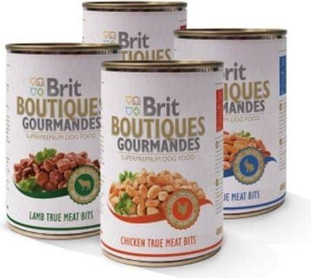 Brit mokra hrana za pse Butiques Gourmandes Mix, 12 x 400 g