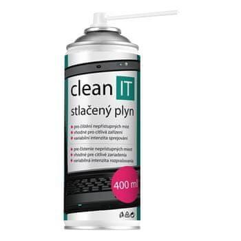 Clean IT stlačený vzduch, 400ml