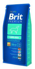 Brit hrana za pse Premium Dog jagnetina in riž 15 kg