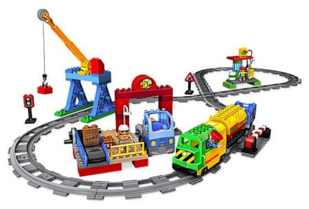 LEGO DUPLO 5609 Velká vlaková sada De Luxe