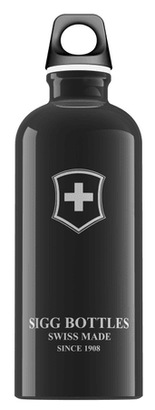 Sigg Swiss Emblem 0,6 L Black
