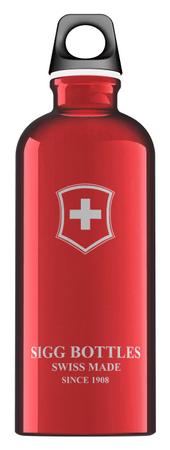 Sigg Butelka 0,6 l Swiss Emblem Red