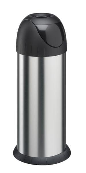 Meliconi Odpadkový koš Bullet Bin 40l, broušená ocel