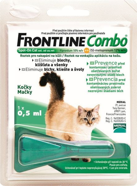 Merial Frontline Combo spot on Cat 1x 0,5 ml