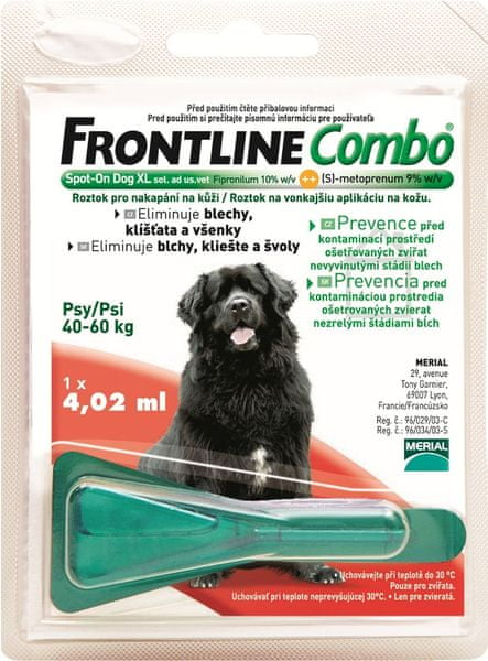 Merial Frontline Combo spot on Dog XL 1x4,02ml