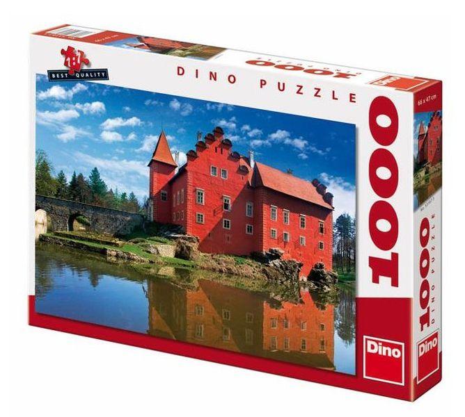 Dino Zámek Červená Lhota, 1000 dílků