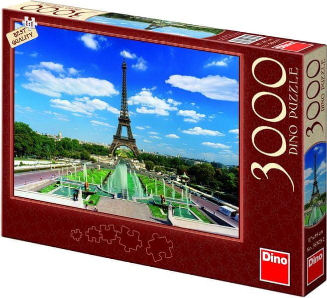 Dino Eiffelova věž, 3000 dílků