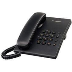 Panasonic KX-TS500FXB žični telefon, črn