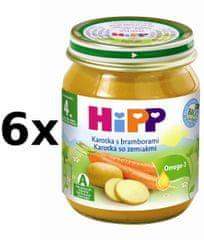 HiPP BIO Karotka s brambory - 6x125g