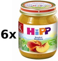 HiPP Broskve - 6 x 125g