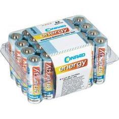 Conrad Energy AA alkalická, 24ks box