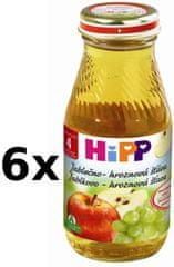 HiPP Jablčno-hroznová šťava - 6x200ml