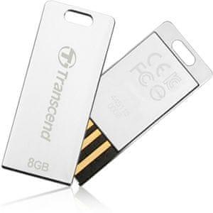 Transcend JetFlash T3S 16GB stříbrný (TS16GJFT3S)