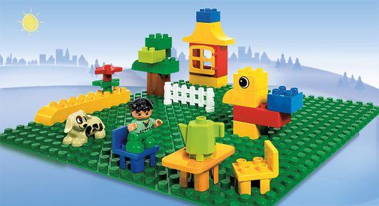 LEGO DUPLO® 2304 Zöld építőlap