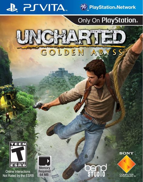 Sony PS Vita - Uncharted: Golden Abyss