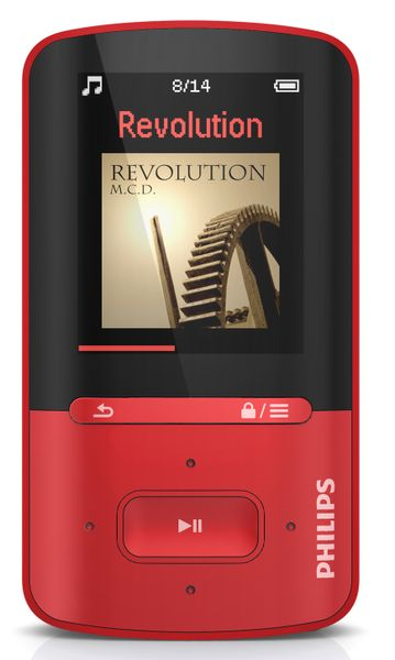 Philips SA4VBE04RF / 4GB (Red)