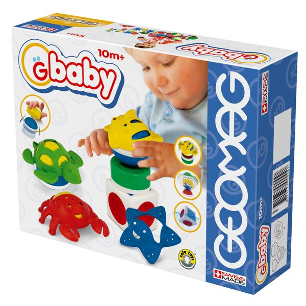 Geomag Baby Sea Medium, 11 prvků