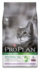 Purina Pro Plan Cat Sterilised Turkey macskaeledel - 10 kg