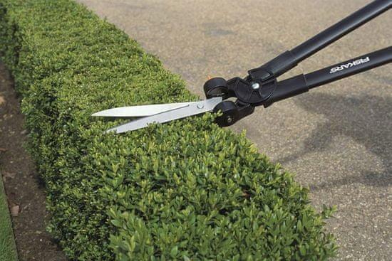 Fiskars nożyce do trawy i żywopłotu, dźwigniowe - GS53 (113710)