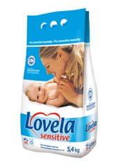 Lovela Proszek do prania dla niemowląt - hipoalergiczny Sensitive 5,4 kg