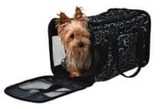 Trixie nosilna torba z motivom kosti