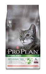 Purina Pro Plan Cat Sterilised Salmon macskaeledel - 10 kg