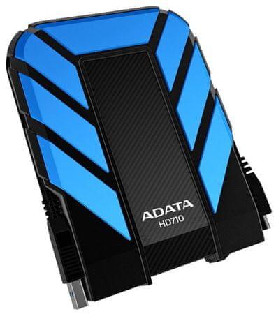 A-Data zunanji disk HD710 1 TB, modro-črn