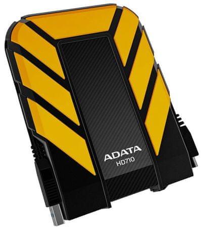 A-Data zunanji trdi disk HD710, 1 TB, rumeno-črn