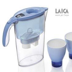 Laica Stream line speciální edice se dvěma skleničkami a třemi filtry