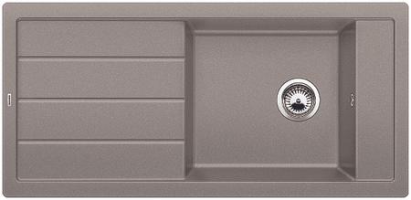 BLANCO zlewozmywak granitowy Mevit XL 6 S, tartufo (518361)