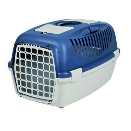 Trixie Transportný box CAPRI II. šedo-modrá