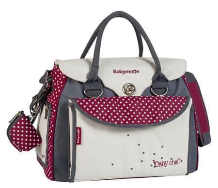 Babymoov previjalna torba Baby Style, rdeča