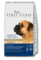 First Class Dog Adult Large Breed kutyatáp - 12kg