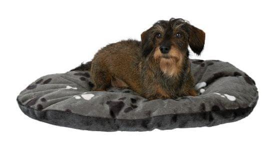 Trixie Owalna poduszka w łapki Gino - szara