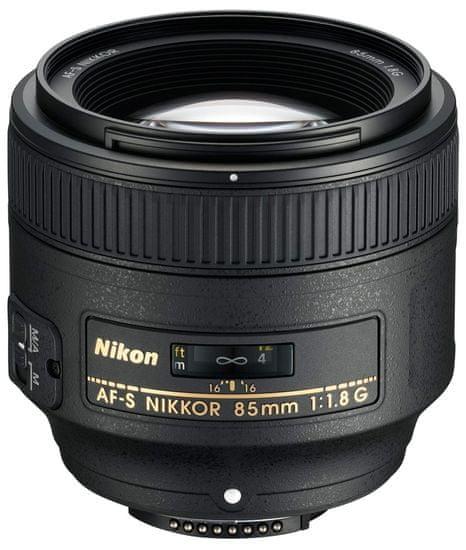 NIKON AF-S 85mm f/1.8G Fix objektív